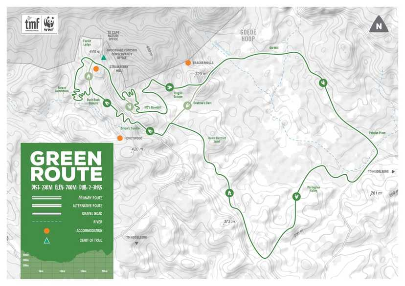 New Green Mountain Bike Route